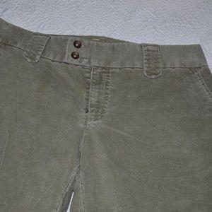 GAP corduroy boot cut pant